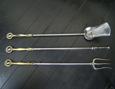 Arts & Crafts Fire Irons (SOLD)