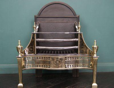 Adam-Style Fire Basket