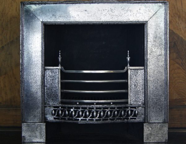 Polished Wrought-Iron Register Grate