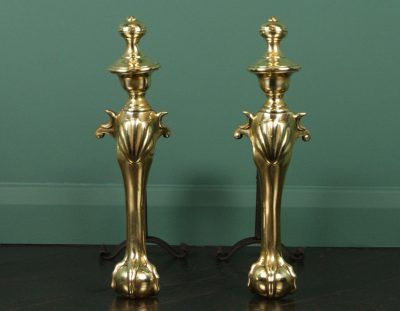 George II English Andirons (Sold)