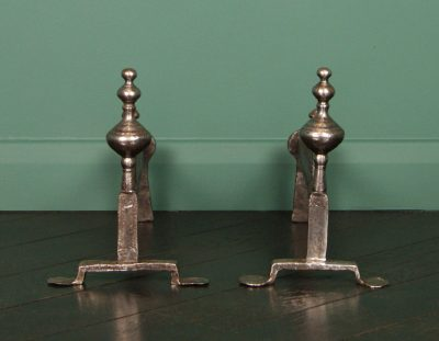 18th Century English Andirons (Sold)