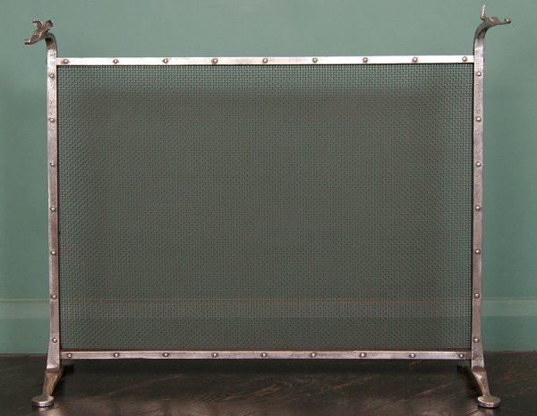 Wrought-Iron Fire Screen