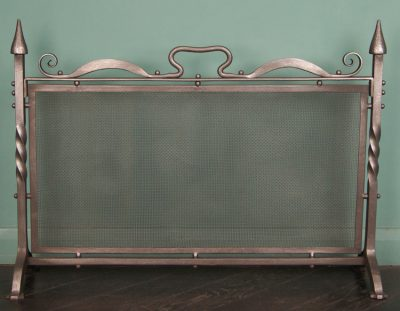 Wrought-Iron Fire Screen