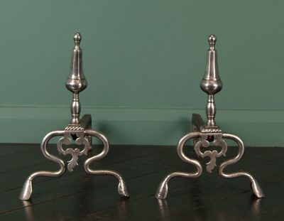 Louis XV Wrought-Iron Fire Dogs (SOLD)