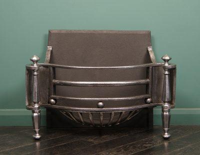Polished Regency Fire Basket