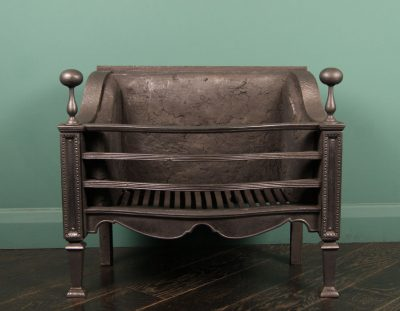 Fine Cast-Iron Fire Basket by T Elsley (Sold)