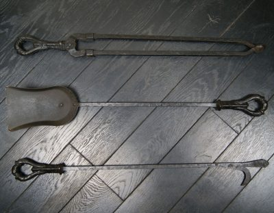 Arts and Crafts Fire Irons (SOLD)