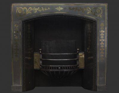 19th Century English Brass & Steel Register (SOLD)