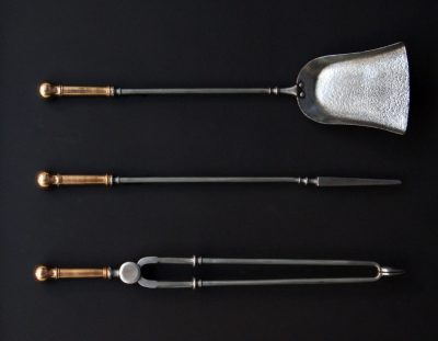 Bronze & Steel Fire Irons (SOLD)