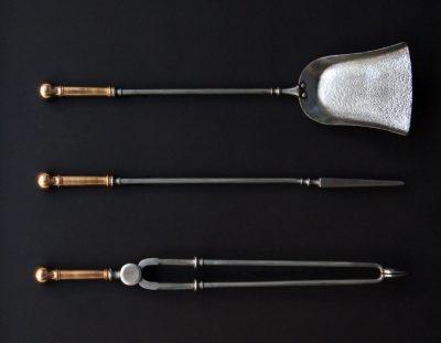 Bronze & Steel Fire Irons (SOLD)