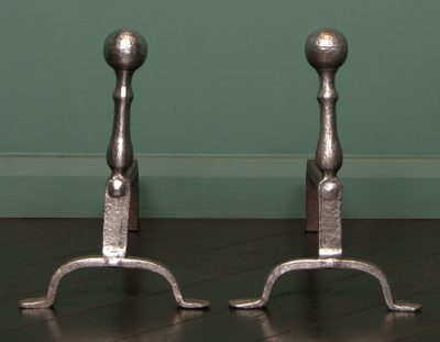Late 18th Century English Fire Dogs (SOLD