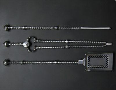 Barley-Twist Fire Irons