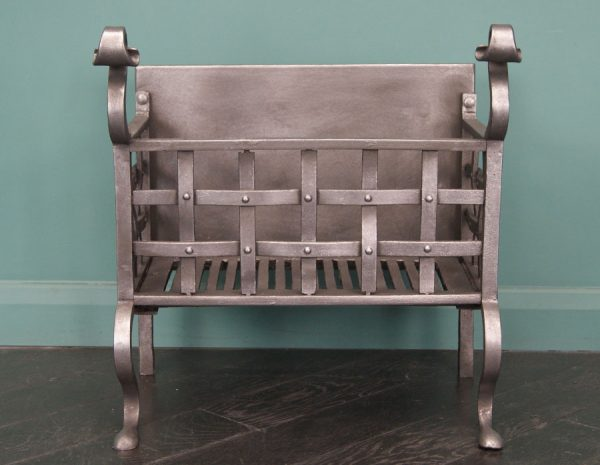 Wrought-Iron Fire Basket (SOLD)
