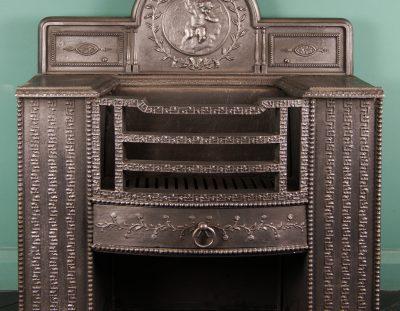 19th Century Ornate Carron Hob (Sold)
