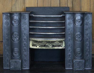 A Large 18th Century Hob Grate