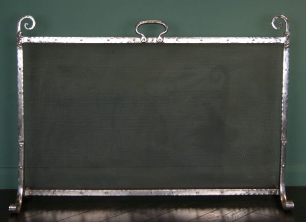 Large Wrought-Iron Fire Screen (SOLD)