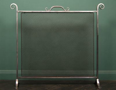 Large English Wrought Fire Screen (SOLD)