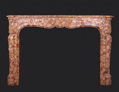 19th Century Louis XV Fireplace Chimneypiece