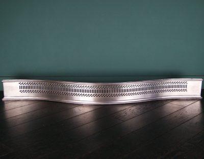 English 19th Century Steel Serpentine Fender