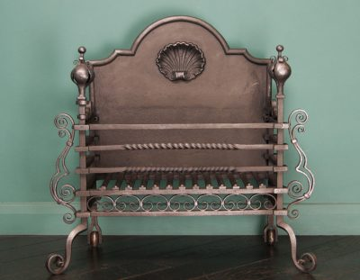 Arts and Crafts Wrought Fire Basket (Sold)