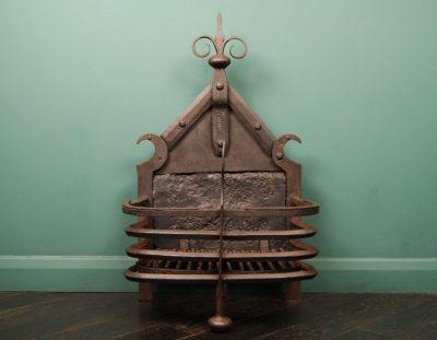 Scottish Arts & Crafts Fire Basket by J Bennet