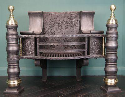Cast-Iron and Brass Pillar Grate (Philip Webb)