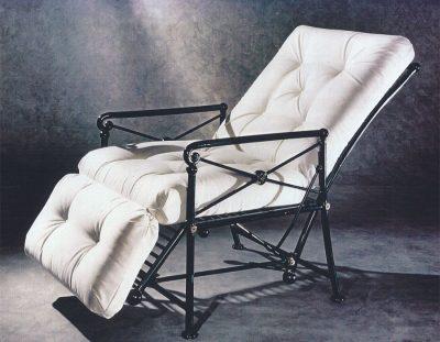 Black Reclining Chair