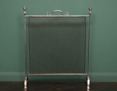 Polished Wrought Fire Screen (Sold)