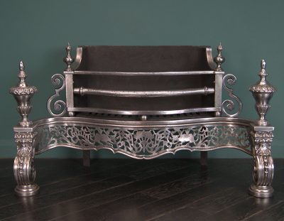 A Large Ornate Regency Manner Grate