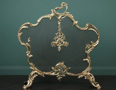 Fine Gilt Brass Fire Screen