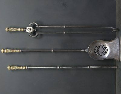 Brass & Steel Fire Irons (Sold)