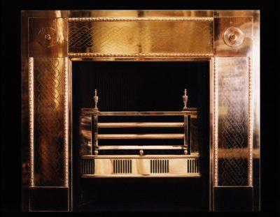 Brass Register Grate