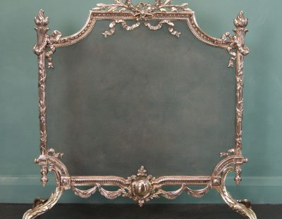 Brass Fire Screen (SOLD)