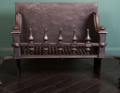 Large Neo-Gothic Fire Grate (SOLD)