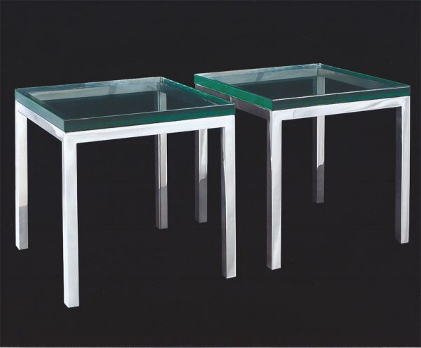 Polished Stainless Steel Tables
